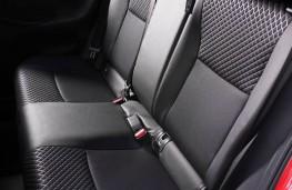 Toyota Yaris, interior, rear