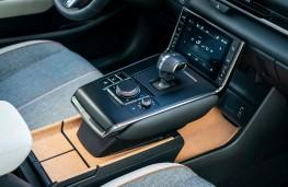 Maxda MX-30, centre console and cork trim