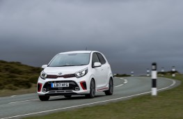 Kia Picanto GT-Line, front, action