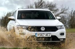 Volkswagen T-Roc 4Motion, 2017, front, off road