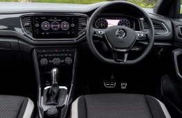 Volkswagen T-Roc 4Motion, 2017, interior