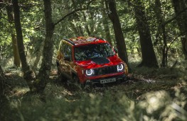 Jeep Renegade 4xe, 2020, off road, front