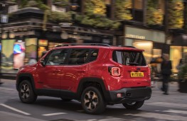 Jeep Renegade 4xe, 2020, side
