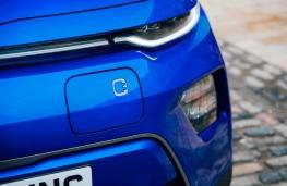 Kia Soul EV, charging flap