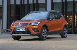 SEAT Arona Xcellence, 2018, front