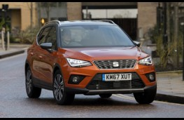 SEAT Arona Xcellence, 2018, front, action