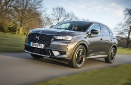 DS 7 Crossback, 18-plate, front, action