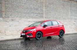 Honda Jazz Sport, 2018, side