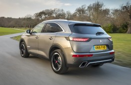 DS 7 Crossback, 18-plate, rear, action