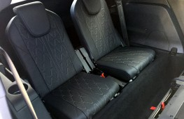 Peugeot 5008, 2017, rear seats