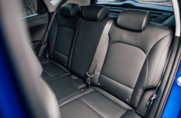 Kia Soul EV, rear seats