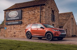 Land Rover Discovery Sport, 2019, side, North Yorkshire Experience Centre