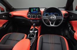 Nissan Juke, 2020, DCT interior