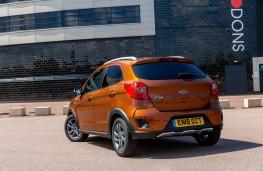 Ford KA+, rear