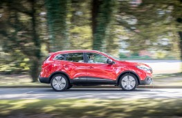Renault Kadjar, side, action