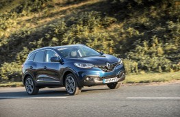 Renault Kadjar dCi 110, side, action