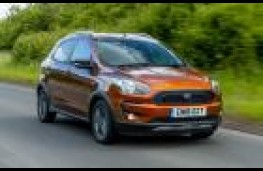 Ford Ka+ Active, 2018, front, action