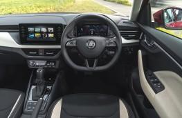Skoda Kamiq, interior, auto