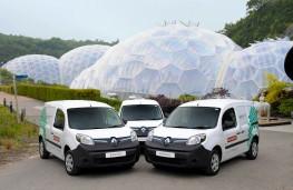Renault Kangoo ZE, Eden Project