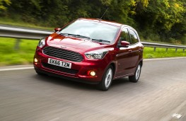 Ford Ka+, 2016, front, action