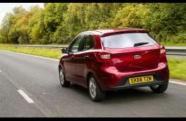 Ford Ka+, 2016, rear, action