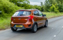 Ford Ka+ Active, 2018, rear