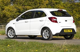 Ford Ka+ Zetec, rear, static