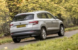 Skoda Karoq, 2018, rear, action
