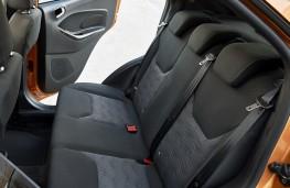 Ford Ka+, rear seats