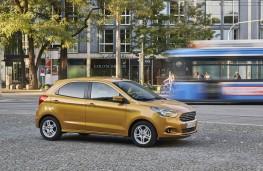Ford Ka+, side