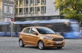 Ford Ka+, side, action