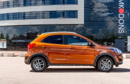 Ford Ka+ Active, 2018, side