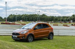 Ford Ka+ Active, 2018, side, static