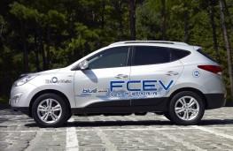 Hyundai ix35 FCEV, side