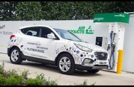Hyundai ix35 FCEV, refuelling