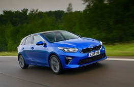 Kia Ceed, front action