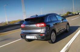 Kia e-Niro, 2018, rear, action