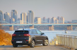 Kia e-Niro, 2018, rear, static