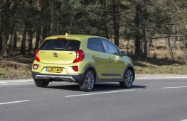 Kia Picanto, rear action