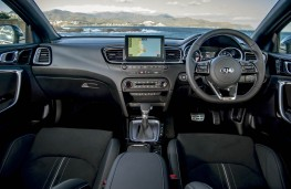 Kia ProCeed, dashboard