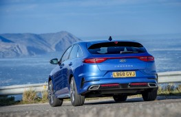Kia ProCeed, rear action 2