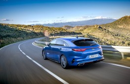 Kia ProCeed, rear action