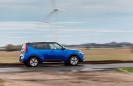 Kia Soul EV, side action