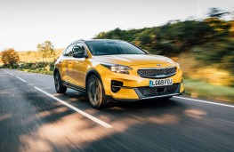 Kia XCeed, front action 2