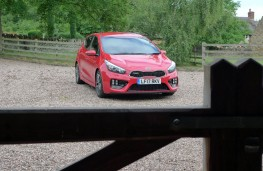 Kia cee'd GT, front static gate