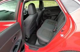 Kia cee'd GT, rear seats