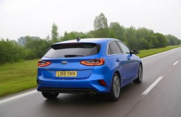 Kia Ceed, rear action