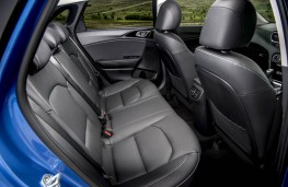 Kia Ceed, rear seats