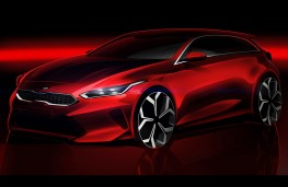 Kia Ceed 2018 design sketch