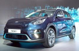 Kia Niro EV blue front